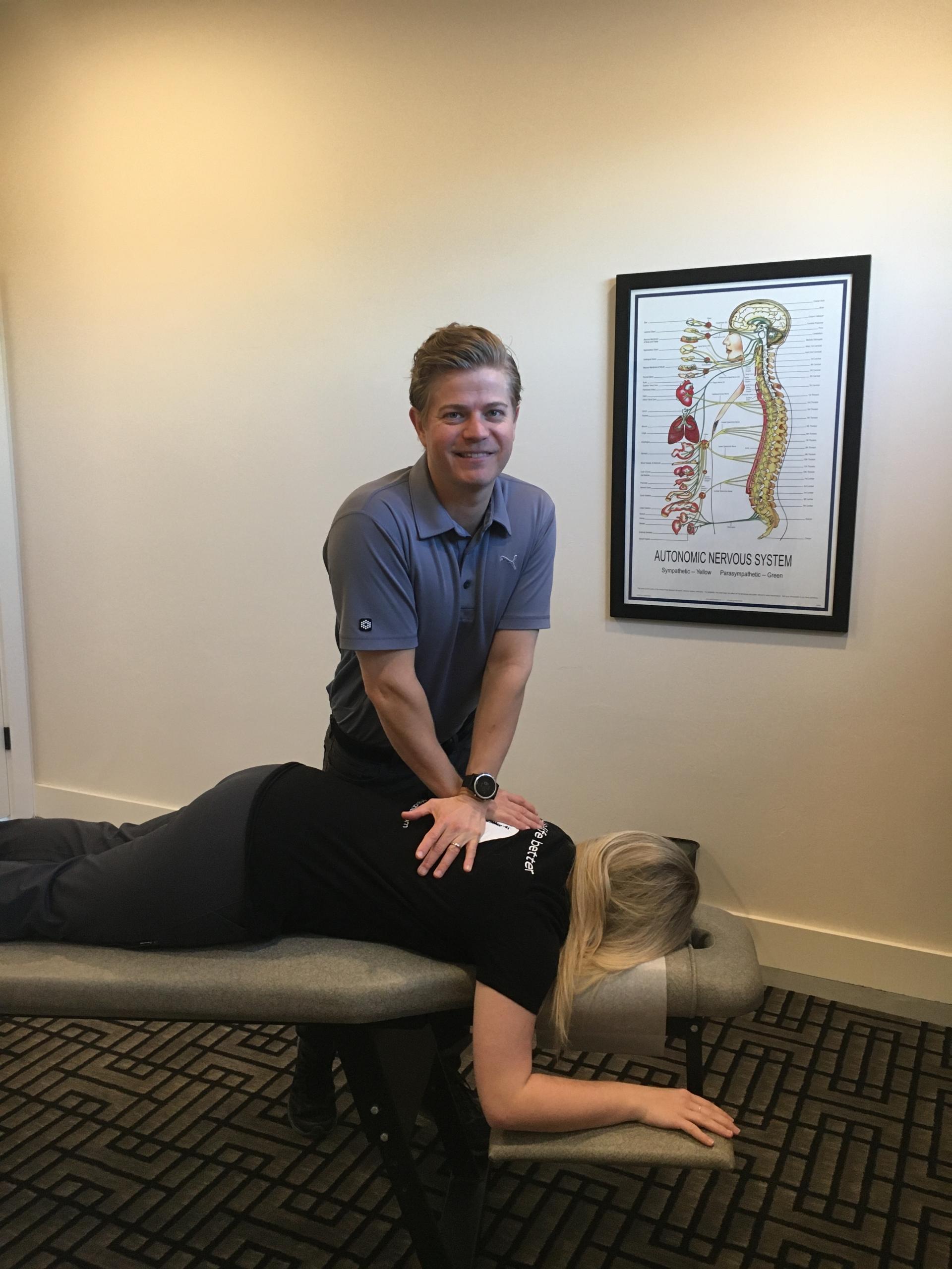 1st Chiropractic adjustment reaction 🙏🏽 - YouTube